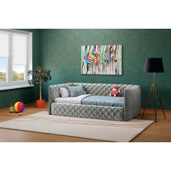 Viengulė lova ELIZA SOFT 900 (su čiužiniu)