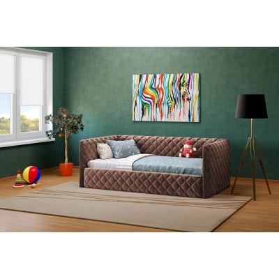 Viengulė lova ELIZA SOFT 900 (be čiužinio)