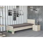 Viengulė lova 800 DENITA (su čiužiniu)