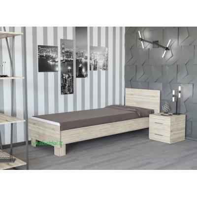 Viengulė lova 800 DENITA (be čiužinio)