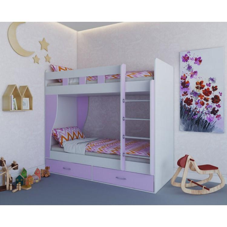Dviaukštė lova ALBA (be čiužinių)