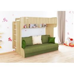 Dviejų aukštų lova ELIZA GOLD (be čiužinio)