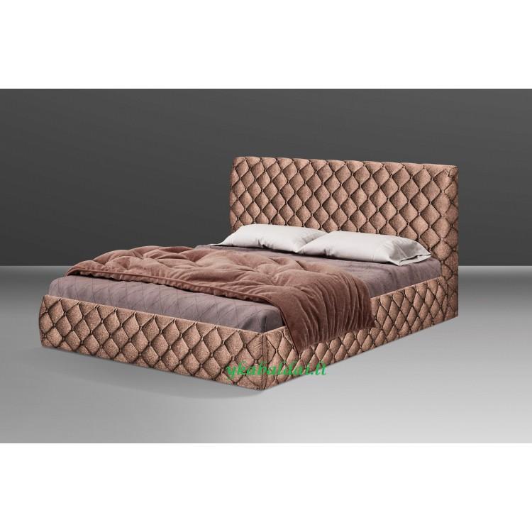 Miegamojo lova HARMONIJA 1600 su patalynės dėže (be čiužinio)