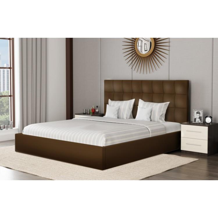 Miegamojo lova NIKOLETTI 1800 su patalynės dėže ir čiužiniu