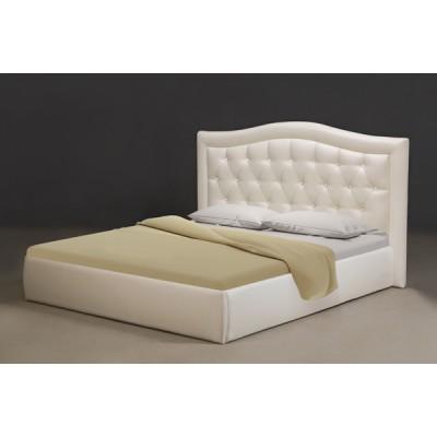Miegamojo lova Venecija 1400 (su patalynės dėže ir čiužiniu)